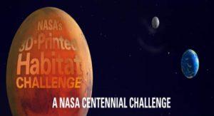 چالش ساخت اقامتگاه ، چالش ناسا ، پرینتر سه بعدی